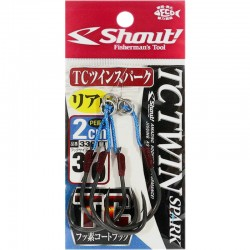 Shout 342 - TC Hard Twin Spark 2cm - 2/0 (2pcs)