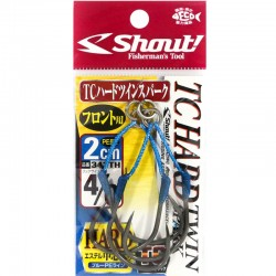 Shout 342 - TC Hard Twin Spark 2cm - 4/0 (2pcs)