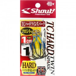 Shout 341 - TC Hard Twin Spark 1cm - 1 (2pcs)