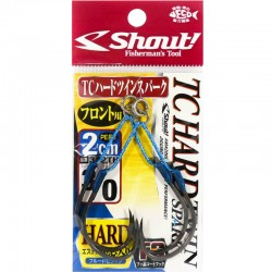 Shout 342 - TC Hard Twin Spark 2cm - 3/0 (2pcs)
