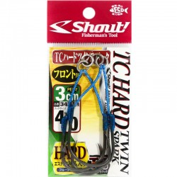 Shout 343 - TC Hard Twin Spark 3cm - 4/0 (2pcs)