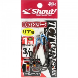 Shout 338 - TC Twin Spark 1cm - 3/0 (2pcs)