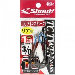 Shout 338 - TC Twin Spark 1cm - 3/0 (2pcs)