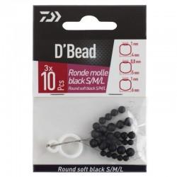 Daiwa D'Bead Round Soft Black S/M/L