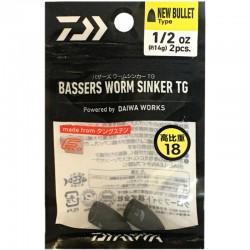 Daiwa Bassers Worm Sinker TG 14g (2pcs)