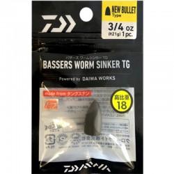 Daiwa Bassers Worm Sinker TG 21g (1pcs)