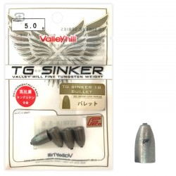 Valley Hill TG Sinker - Bulllet 5g (4pcs)