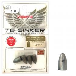 Valley Hill TG Sinker 18 - Bulllet 5g (4pcs)