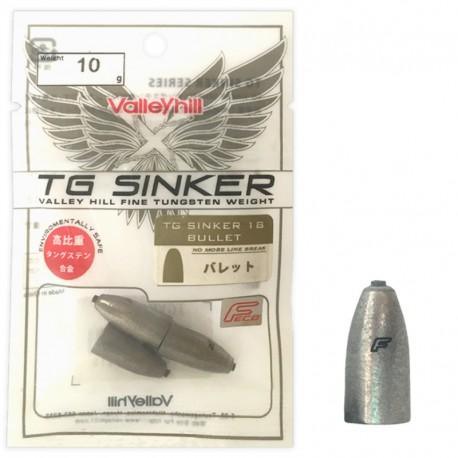 Valley Hill TG Sinker 18 - Bulllet 10g (3pcs)