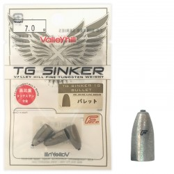 Valley Hill TG Sinker - Bulllet 7g (3pcs)