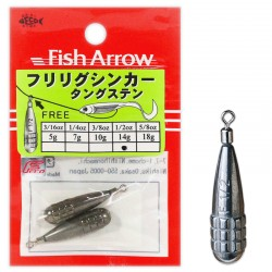 Fish Arrow Furi Rig TG Sinker 1/2oz-14g (2pcs)