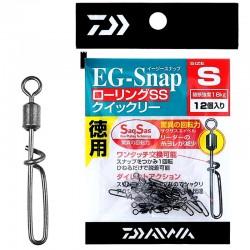 Daiwa EG-SNAP Rolling SS - Size S (12pcs)