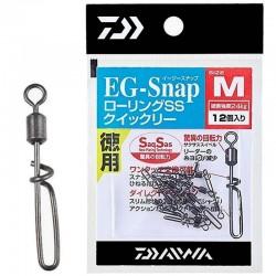 Daiwa EG-SNAP Rolling SS - Size M (12pcs)