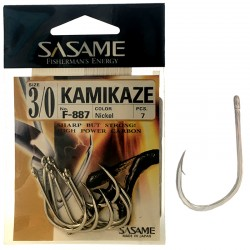 Sasame F-887 Kamikaze Nickel 3/0 (7 pcs)
