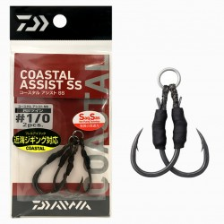 Daiwa Coastal Assist SS RS Twin - 1/0 (2pcs)