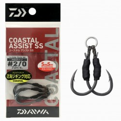 Daiwa Coastal Assist SS RS Twin - 2/0 (2pcs)
