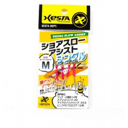 Xesta Single Claw Shore Slow Assist Hook - M