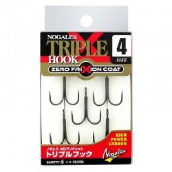 Nogales Zero Frixion Triple Hook - 4 (5pcs)