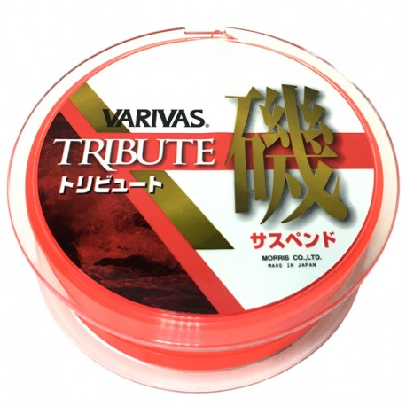 Varivas Tribute Iso Suspend Type (150m - 6) Hyper Red