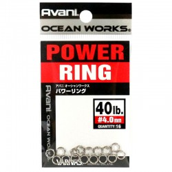 Varivas Avani Power Ring 4.0mm 40lb (16pcs)