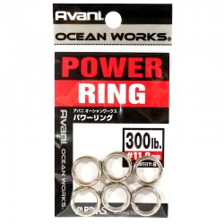 Varivas Avani Power Ring 11.0mm 300lb (6pcs)