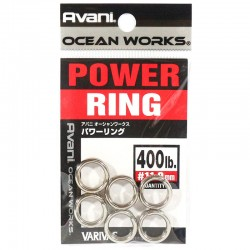Varivas Avani Power Ring 11.0mm 400lb (6pcs)