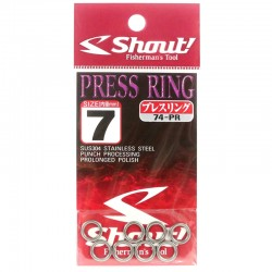 Shout Press Ring 7.0mm 440lb (8pcs)