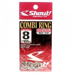 Shout Combi Ring 8.0mm 105lb (3pcs)