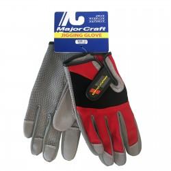 Major Craft Jigging Glove - LL - RD