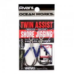 Varivas Twin Assist Shore Jigging Short Size #1