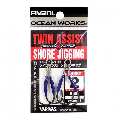 Varivas Twin Assist Shore Jigging - 2 (2pcs)