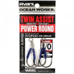 Varivas Twin Assist Power Round - 1/0 (2pcs)