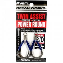 Varivas Twin Assist Power Round - 2/0 (2pcs)