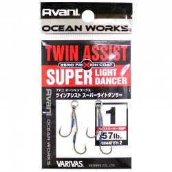 Varivas Twin Assist Super Light Dancer - 1 (2pcs)