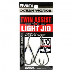 Varivas Twin Assist Light Jig - 1/0 - 1.5cm (2pcs)