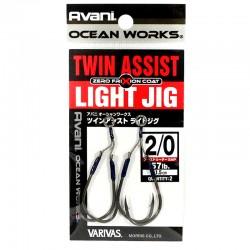 Varivas Twin Assist Light Jig - 2/0 - 1.5cm (2pcs)