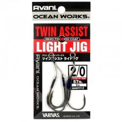 Varivas Twin Assist Light Jig - 2/0 - 2cm (2pcs)