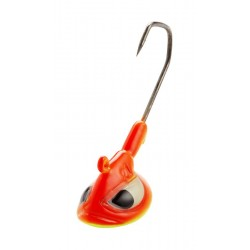 Berkley PowerJig Vertic Head 21g 3/0 Fluo Orange - 3pcs