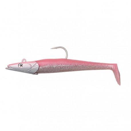 Sandeel 12.5cm 23g pink Glitter 2+1pc