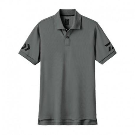 Camiseta Polo DE-7906- XL -GUN METAL/ BLACK