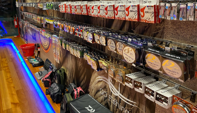 All kind of braid lines - at your store GO Fishing